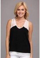 Aryn K AT2697B Block Tank Top