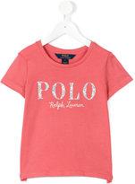 Ralph Lauren floral logo T-shirt - kids - Cotton - 2 yrs