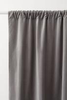 H&M 2-pack Velvet Curtain Panels - Gray