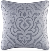 "J Queen New York Harrison Chrome 20"" Square Decorative Pillow"
