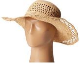 San Diego Hat Company RHL3085 Crochet Raffia Sun Brim Hat