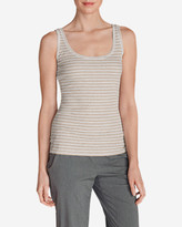 Eddie Bauer Women's Lookout 2x2 Tank Top - Stripe