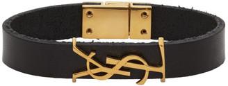 Saint Laurent Black Opyum Bracelet
