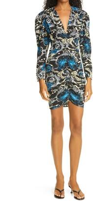 A.L.C. Roxy Long Sleeve Minidress