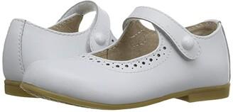 FootMates Emma (Toddler/Little Kid) (White) Girls Shoes