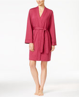 Charter Club French Terry Kimono Robe