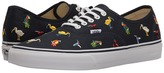 Vans Authentic Dress Blues/True White) Skate Shoes