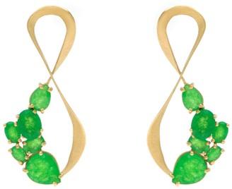 Larissa Moraes Jewelry Van Goghs Wild Flowers Earrings