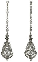 Ben-Amun Women's 'Deco' Crystal Drop Earrings