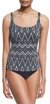 Gottex Infinity Printed Tankini Two-Piece Swimsuit Set