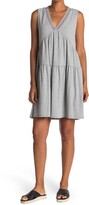 Thumbnail for your product : Laundry by Shelli Segal Ribbed V-Neck Dress