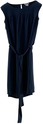 Barneys New York Navy Silk Dress for Women