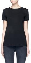 Helmut Lang Tie open back cotton-cashmere T-shirt