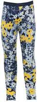 M&Co Floral print glitter waistband legging