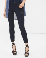 White House Black Market Skinny Crop Jeans with Utility Details