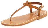 K. Jacques Picon Flat Thong Sandal, Natural