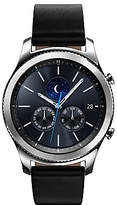 Samsung Gear S3 Classic Smartwatch with Leather Band, Dark Grey