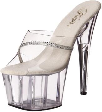Pleaser USA Women's Adore-701R/C/M Platform Sandal