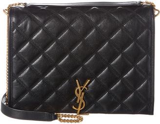 Saint Laurent Becky Small Leather Shoulder Bag