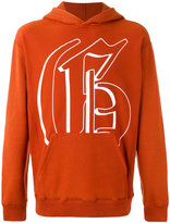 Golden Goose Deluxe Brand Rust Hoodie sweater - men - Cotton - S