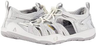 KEEN Kids Moxie Sandal (Little Kid/Big Kid) (Silver) Girl's Shoes