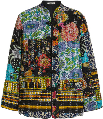 Ciao Lucia Marco Patchwork Cotton Jacket