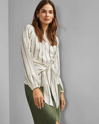 Ted Baker KYLIIEE Front wrap detail top