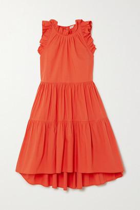 Ulla Johnson Tamsin Ruffled Tiered Cotton Dress