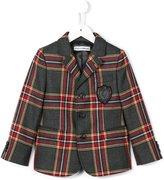 Dolce & Gabbana tartan check blazer