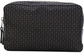Alexander McQueen micro skull print wash bag - men - Leather/Nylon - One Size