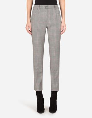 Dolce & Gabbana Glen Plaid Pants