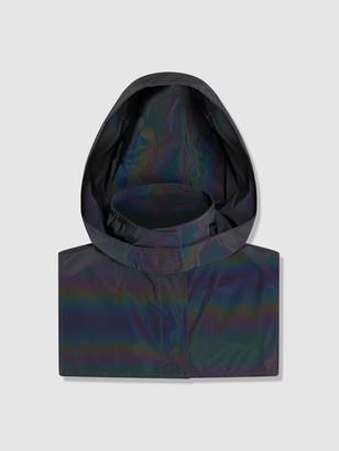 Venim Reflective Black Waterproof Hood