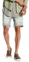 One Teaspoon Mr Blacks Distressed Frayed Jean Shorts