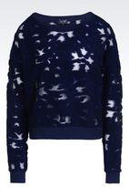 Armani Jeans Sweatshirt In Jersey