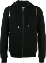 Les Hommes zipped hoody - men - Cotton - XXL