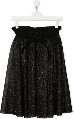 Dondup Kids Paperbag Waist Skirt