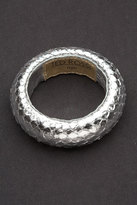 Medium Snake Bangle in Silver