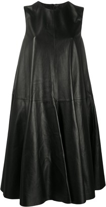 Loewe Sleeveless Leather Dress