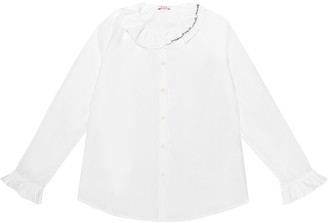 Il Gufo Cotton blouse
