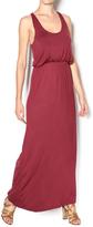Entro Burgundy Maxi Dress