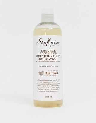 Shea Moisture 100% Virgin Coconut Oil Daily Hydration Body Wash 384ml