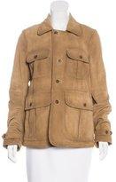 Polo Ralph Lauren Suede Utility Jacket