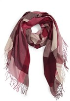 Nordstrom Women's Academy Check Wool & Cashmere Scarf