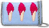 Stella McCartney ice-cream embroidered Surf Falabella bag