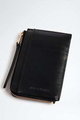 Zadig & Voltaire ZV Initiale Le Medium Card Holder