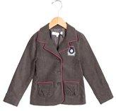 Tartine et Chocolat Girls' Velvet Cvest Jacket w/ Tags