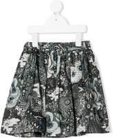 Bonpoint planets print cotton skirt
