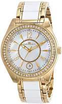 Oceanaut Women's OC5410 Pearl Analog Display Quartz Two Tone Watch
