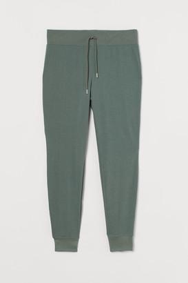 H&M H&M+ Cotton-blend joggers