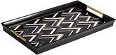 L'OBJET Deco Noir Rectangular Tray